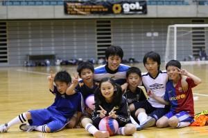 こちらはチームアカサコ(県選抜のゴレイロ赤窄選手率いる仲良しチームです。)