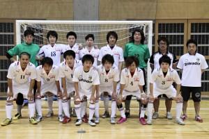 岐阜県選抜。準決勝前の集合写真です。