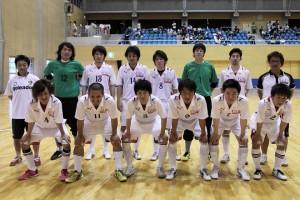 岐阜県選抜。3位決定戦直前の集合写真です。
