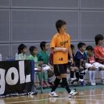 ▲低学年クラスの指導を行うのは静岡県女子選抜の石川選手です。今年3月の全国女子選抜全国大会で日本一そして大会MVPに選出された選手です!