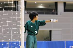 こちらはPIVOのゴレイロ、曽根選手。