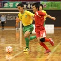 個々の技術力のぶつかり合いはさすが全国大会出場チーム同士の一戦だった。