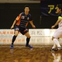 試合開始直後から積極的なプレーでチームを鼓舞した江藤。