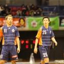 ベテランの曽根田と江藤は気迫溢れるプレーで引っ張るタイプだ。