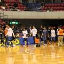 入場するスポーツパラダイスドリームチームに歓声が湧いた。