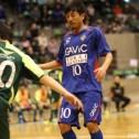 3年連続東海1部リーグ得点王佐野敦司選手(XEBRA所属)は東海オールスターでもフィニッシャーとしての役割を担っていました。
